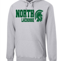 Williamsville North HS Mens Lacrosse Port & Company - Ultimate Pullover Hooded Sweatshirt