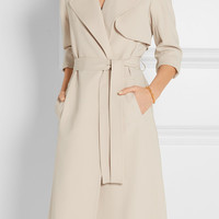 Theory - Oaklane B crepe trench coat