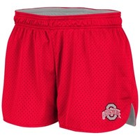 Ohio State Buckeyes Ladies Highlight Shorts - Scarlet