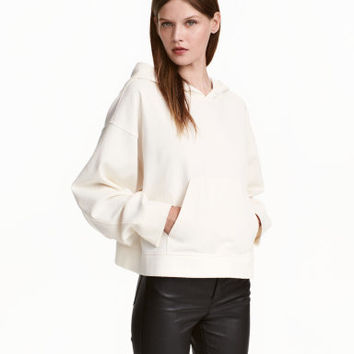 H&M Oversized Hooded Sweatshirt $39.99