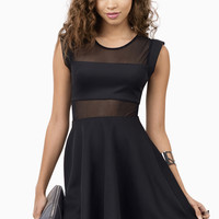 Censored Skater Dress