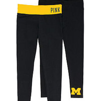 University of Michigan Yoga Legging - PINK - Victoria's Secret