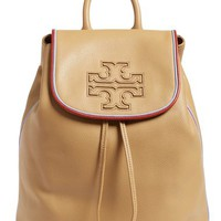 Tory Burch 'Harper Stripe' Leather Backpack | Nordstrom