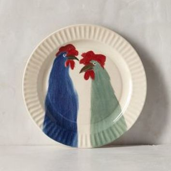 Gallus Dessert Plate by Holly Frean