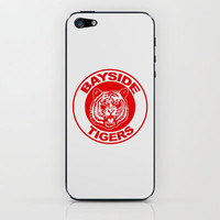 Saved by the bell: Bayside Tigers iPhone & iPod Skin by dutyfreak | Society6