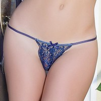 SEXY LACE G-STRING PANTY COQUETTE (CQ7086)
