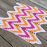 Pattern: Oh Snap Chevron Afghan