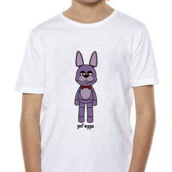 Five Nights At Freddy's Tee, Egg Hunt Tee, Easter Egg Tee, Custom Easter Shirt, Personalized Kids Easter Day Tee, Custom Easter Party Tee
