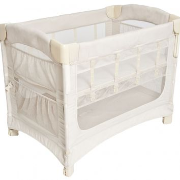 Arm's Reach Ideal Ezee 3 in 1 Baby Co-Sleeper Bedside Bassinet Natural NEW