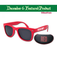 FEATURED: RED Sunglasses w/ case