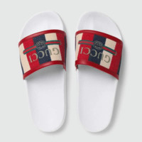 GUCCI men and women Cloth slippers