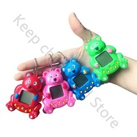 New 4 colors 90s nostalgic 168 pets in one virtual cyber pet toy funny tamagotchi electronic pets toys gift Christmas JL162
