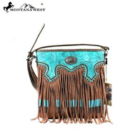 MW335-8287 Montana West Fringe Collection Crossbody Bag