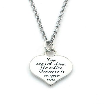 Love Braille Necklace-B03