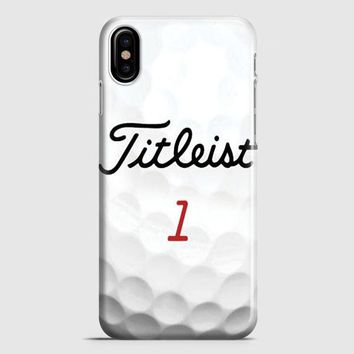 Titleist Tour Golf Balls iPhone X Case