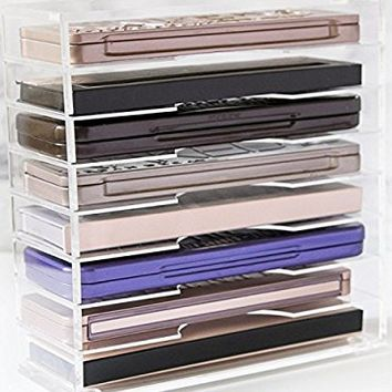 Skin Radiance 8 Tier Clear Acrylic Palette Make up Organizer