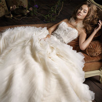 Bridal Gowns, Wedding Dresses by Lazaro - Style LZ3100