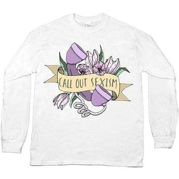 Call Out Sexism -- Unisex Long-Sleeve