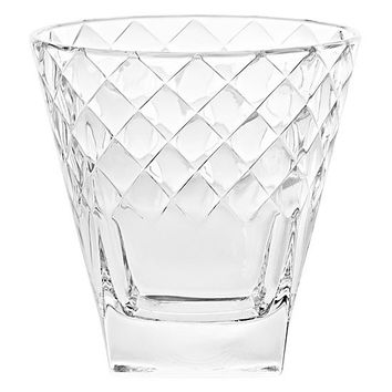 Majestic Gifts E64673-S6 Quality Glass Double Old Fashioned Tumbler 11.5 oz. Set of 6