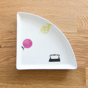 Pynta Plate by Stig Lindberg for Gustavsberg Sweden