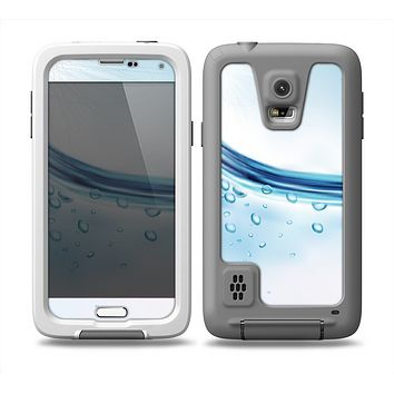 The Vivid Water Layers Skin Samsung Galaxy S5 frē LifeProof Case