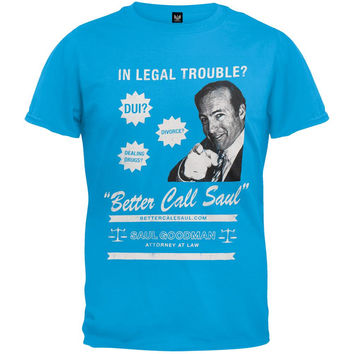 Breaking Bad - Legal Trouble? Call Saul T-Shirt
