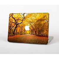 "The Fall Back Road Skin Set for the Apple MacBook Pro 13"" with Retina Display"