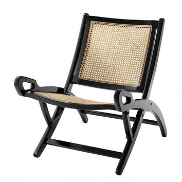 NATURAL CANE FOLDING CHAIR | EICHHOLTZ DIMONO