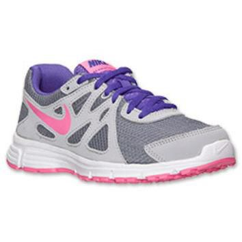 Girls' Grade School Nike Revolution 2 Running Shoes