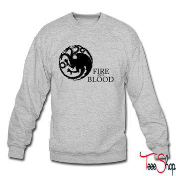 Targaryen Sigil and Motto crewneck sweatshirt
