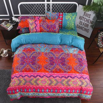 FANAIJIA 3d  duvet cover set with Pillowcase bohemian bedding sets king size boho printed Mandala Bedlinen Home textile
