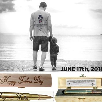"""Happy Father's Day"" Gift Box and Pen"
