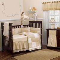 Snickerdoodle 9 Piece Baby Crib Bedding Set by Cocalo
