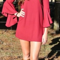 Southern Belle Sleeve Dress