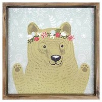 Bear Framed Art - Pillowfort™ : Target