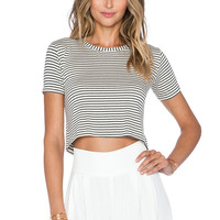 Otis & Maclain Liz Top in Sailor Stripe