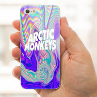 Arctic Monkeys Logo case For iPhone 4/4s/5/5s/5C case,Samsung Galaxy S3/S4 case.