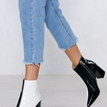 Double Take Two-Tone Boot