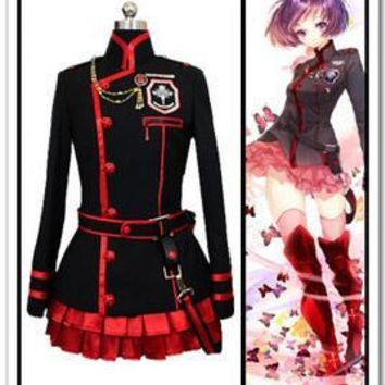 D.Gray-Man Lenalee Lee Cosplay Costume Whole Set
