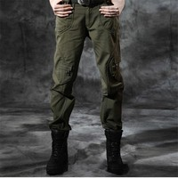Women's Straight Pants Camouflage