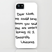 Sincerely, The Unicorns revisited iPhone Case by Caleb Troy | Society6