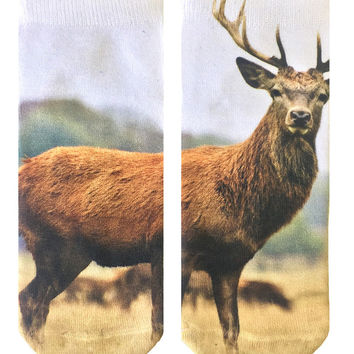 Deer Ankle Socks