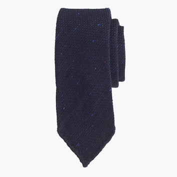 J.Crew Mens Drake's Large-Weave Grenadine Tie In Navy