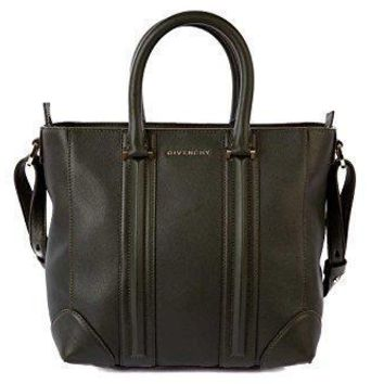 Givenchy Women's Leather Handbag Shopping Bag Purse Lucrezia Green