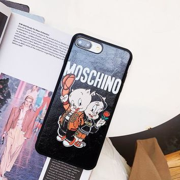 Moschino Case for iPhone 7 8 X XR XSMAX