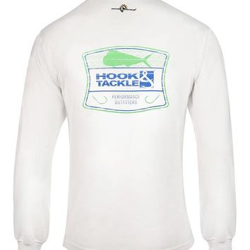 Men's Bull Dolphin Shield L/S UV Fishing T-Shirt