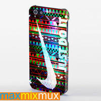 Aztec Nike Just Do It On Galaxy iPhone 4/4S, 5/5S, 5C Series Full Wrap Case