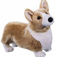 Corgi Plush Stuffed Animal 16 Inch at Animalden.com