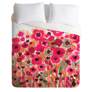 Natasha Wescoat Brightly Blooming Duvet Cover