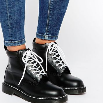 Dr Martens 939 6-Eye Black Boots